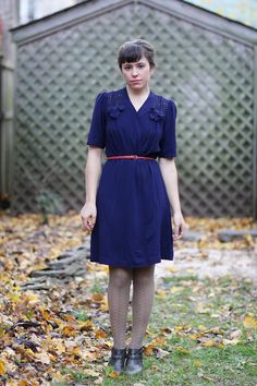 An amazing dress, but she looks so sad. Probably because she knows I would look so much better in it.