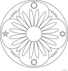Flower Mandalas 3 페이지