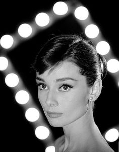 Audrey Hepburn photographed by Leonard McCombe, 1958.