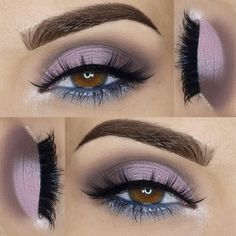 on measurabledifference Enticed eyeshadow palette theboldfacemakeup Doll Me Up lashes Makeup Goals, Makeup Inspo, Makeup Inspiration, Makeup Ideas, All Things Beauty, Beauty Make Up, Makeup For Brown Eyes, Gray Eye Makeup, Gorgeous Makeup