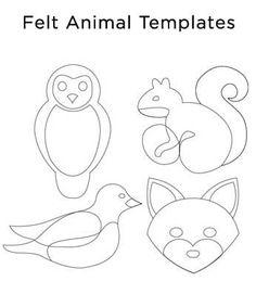 EBT | DIY: Felt Animal Holiday Decorations #feltanimalsdiy