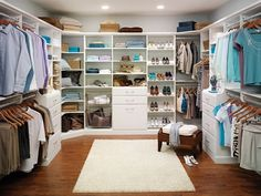 Designs for Small Closets | large master closet design Master Closet Design Ideas for an Organized ...