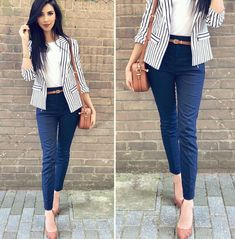 Business-Outfit 48 Modest Women Business Outfits for 2019 Summer Work Outfits, Casual Work Outfits, Work Casual, Classy Outfits, Casual Summer, Summer Fashions, Classy Casual, Outfit Summer, Style Summer