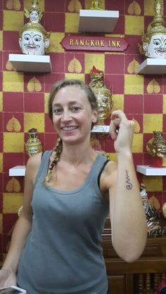 #Bangkok ink tattoo#traditional Thai tattoo#sak yant tattoo#