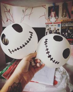 Halloween balloons decor!