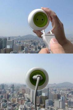 Sunpower window plug. #cool