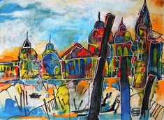 mr marian hergouth, Venedig Impression Paintings, Artist, Paper, Canvas, Drawing S, Paint, Painting Art, Artists, Draw
