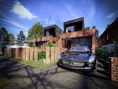 Contemporary luxury Dual Occupancy/ duplex design in Matraville, Sydney - Australia