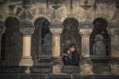 University of Toronto is one of the most versatile places for photography sessions! This couple had their winter engagement photography session done at King's College, one of the most popular spots in the campus #torontoweddingphotographer #engagement #photography #winterengagement ~ http://www.focusphotography.ca/portfolio_page/toronto-ripleys-aquarium-engagement-session-ivy-and-june/