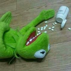 """Read La ranita kermit deprimida :""""v from the story Memes para responder \:v/ by OnlyRandomThoughts (《♡》) with 147 reads. Kpop Memes, Dankest Memes, Funny Memes, Hilarious, It's Funny, Reaction Pictures, Funny Pictures, Funny Pics, Sapo Meme"""