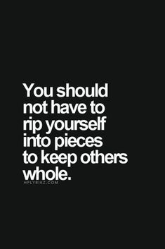 That's true. One must immediately stop behind a people pleaser no matter what