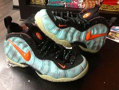 "Nike Air Foamposite Pro ""Blake Griffin Galaxy"" Customs"