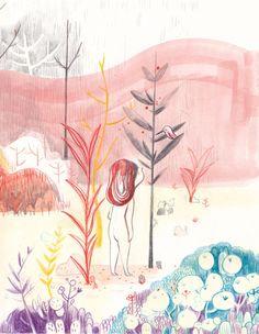 The big fall by Jess Pauwels, via Behance