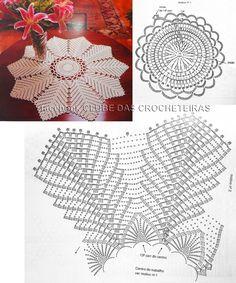 Luty Artes Crochet: crochê com gráfico
