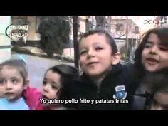 via  @S_R_L_W Los niños de #Homs ansían comer