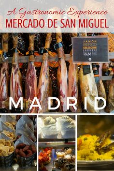 Guide and tips to visiting the Mercado de San Miguel in Madrid Spain. See what this fantastic market has to offer!