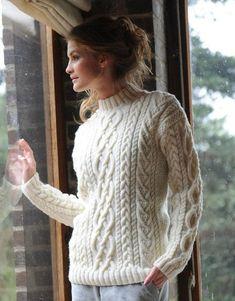 Пуловер с аранами. Обсуждение на LiveInternet - Российский Сервис Онлайн-Дневников