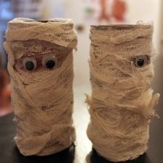 Googly Eye Mummies, 1 of the 12 Googly Eyes Crafts