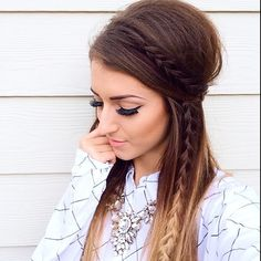 Love this braid @vickymanzhosov #hudabeauty