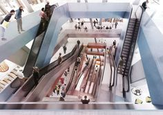 This Scale Model Reveals OMA's Plan to Remix a Historic Berlin Department Store KaDeWe