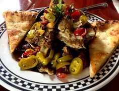 Anthony's Coal FiredPizza - Pork Ribs With Vinegar Peppers