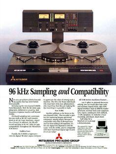 MITSUBISHI - Tape Recorder - www.remix-numerisation.fr - Rendez vos souvenirs durables ! - Sauvegarde - Transfert - Copie - Restauration de bande magnétique Audio - MiniDisc - Cassette Audio et Cassette VHS - VHSC - SVHSC - Video8 - Hi8 - Digital8 - MiniDv - Laserdisc