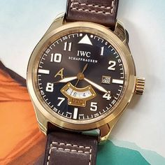 tribute by #iwc to the great #saintexupery  18k rose gold 42mm hunk of beauty limited to 500 pieces  #writer #poet #aristocrat #journalist and #pioneer #pilot all in one person #antoinesaintexupery #watchnerd #watchgeek #watchesofinstagram #womw #hodinkee #ablogtowatch #mondaniweb #quarantineandchill #wewillwin #covid19 #flattenthecurve #nyc #lovewillwin