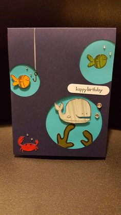 Check out this item in my Etsy shop https://www.etsy.com/listing/470467605/ocean-themed-birthday-card