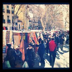 El Rastro; Madrid, Spain