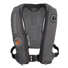 Mustang Elite Inflatable Automatic PFD - Gray [MD5183-GR]