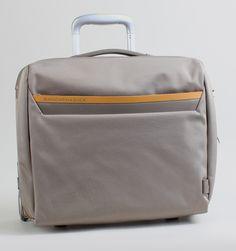 "Mandarina Duck Work Rolling 15"" Laptop Pilot Trolley - Grey"