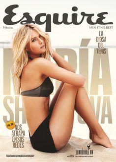 Esquire Cover, Maria Sharapova