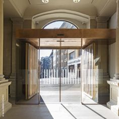 Entrada del Museo de Navarra. Arquitecto, Luis Tena Portrait, Architecture, Room, Furniture, Design, Home Decor, Entryway, Architects, Museums