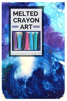 IF you've got some old crayons and a hot day you've got everything you need to make some awesome process art.  Use the heat of the sun and throw in a little STEAM while you're at.