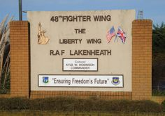 RAF Lakenheath, Cambridgeshire, England - was the 48th Tactical Fighter Wing back in the day with F-111F fighter/bombers