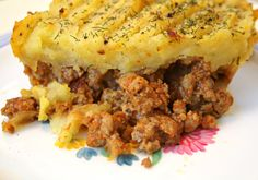 Low Carb Sheperds Pie