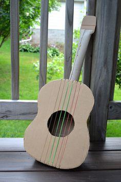 DIY Cardboard Guitar | Cool Mom Picks