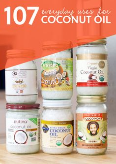 107 Everyday Uses For Coconut Oil | http://homestead-and-survival.com/107-everyday-uses-for-coconut-oil/