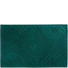 Design by Bernadotte & Kylberg baderomsmatte Kaleido grønn 50x80 cm