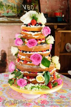 Naked Cake by Little Millies