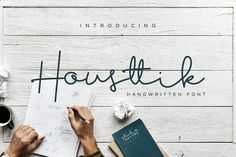 Introducing, this is our first product, we named this product Housttik Font. Housttik Font is a style of modern handwriting, with touch Handwritten Script Font, Signature Fonts, Cricut Fonts, Wedding Fonts, Freebies, Handwriting Fonts, Free Fonts Download, Premium Fonts, All Fonts