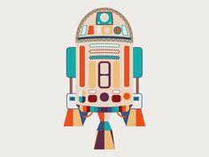 R2-D2 /// by Ema Rogobete