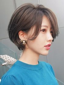 Girls Short Haircuts, Cute Hairstyles For Short Hair, Hairstyles Haircuts, Pretty Hairstyles, Short Wavey Hair, Asian Short Hair, Short Hair Cuts, Japanese Short Hair, Shot Hair Styles