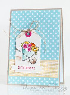 Stampin' Up! | INKspired Blog Hop - You're Sublime | By Louise Sharp