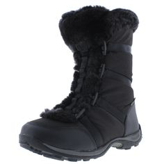 Baffin Womens Victoria Faux Fur Lined Mid Calf Snow Boots