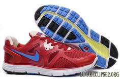 online store 51a64 bc730 Nike lunarglide+ 3 Mens Running Shoe Red