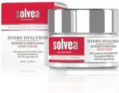 Krem do twarzy Solvea Hydra Hyaluron Krem Intensywnie Odbudowujący Na Noc 50ml - zdjęcie 1