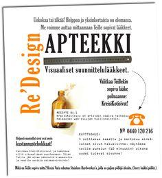 Uutiskirje s-postitse. Kreisi Varis – Graafinen suunnittelu Tmi, 2007–2009. Natasha Varis, Art Director.