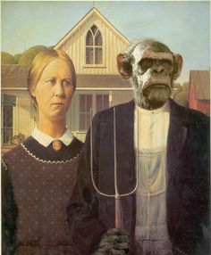 25 Funny American Gothic Portraits - Holytaco
