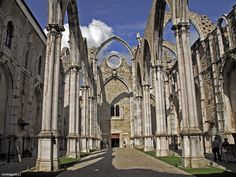 Ruinas da Igreja do Carmo - Lisboa